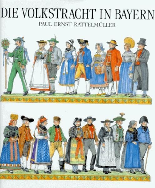 Die Volkstracht in Bayern als Buch