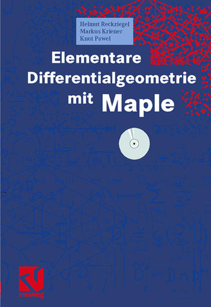 Elementare Differentialgeometrie mit Maple als Buch