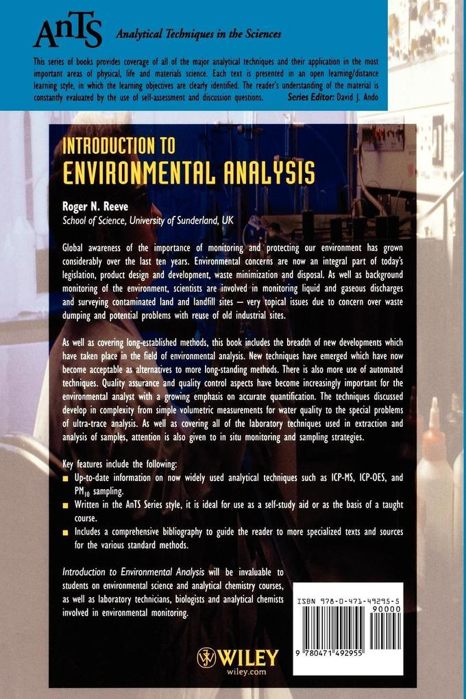 Introduction to Environmental Analysis als Buch