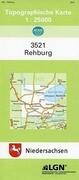 Rehburg 1 : 25 000. (TK 3521/N)