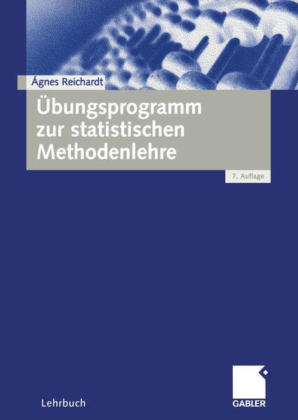 Übungsprogramm zur statistischen Methodenlehre als Buch (kartoniert)