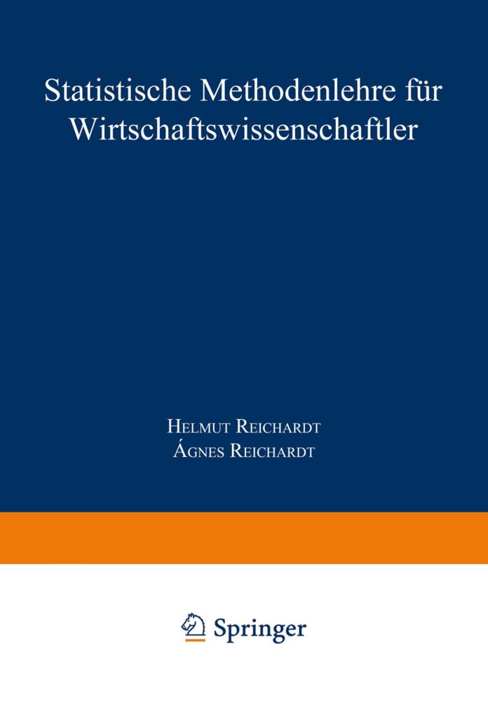Statistische Methodenlehre für Wirtschaftswissenschaftler als Buch