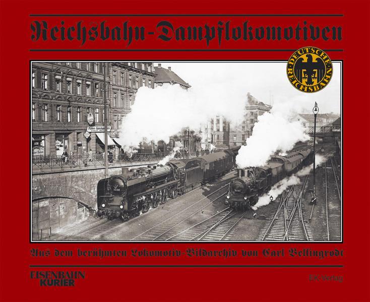Reichsbahn-Dampflokomotiven als Buch