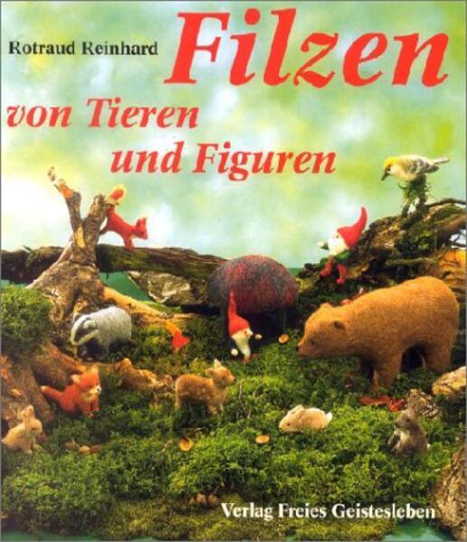 Filzen von Tieren und Figuren als Buch
