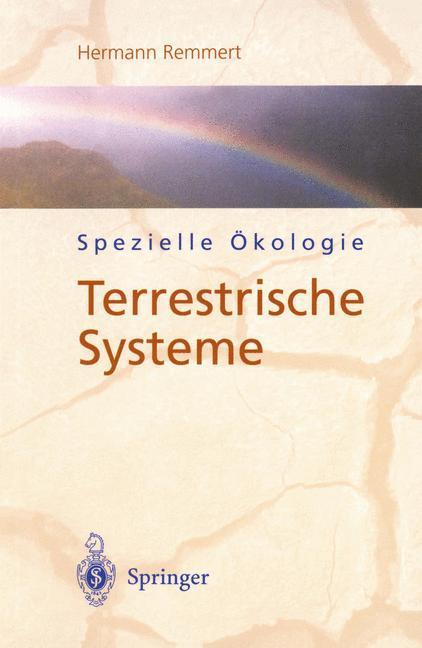 Spezielle Ökologie als Buch (kartoniert)