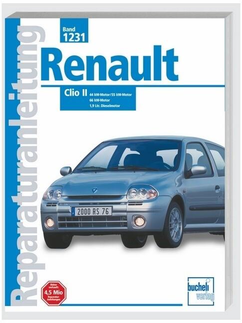 Renault Clio II als Buch