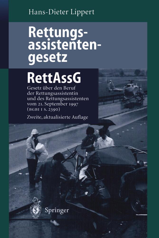 Rettungsassistentengesetz (RettAssG) als Buch