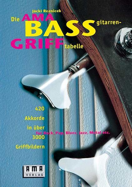 Die AMA-Baßgitarrengrifftabelle als Buch