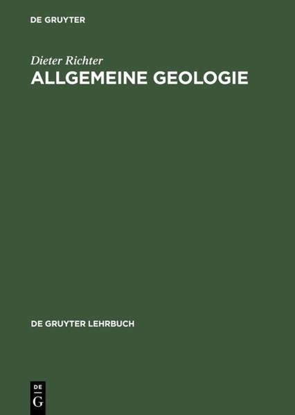 Allgemeine Geologie als Buch