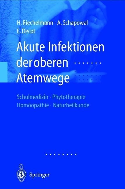 Akute Infektionen der oberen Atemwege als Buch