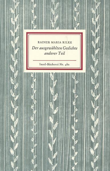 Der ausgewählten Gedichte anderer Teil als Buch