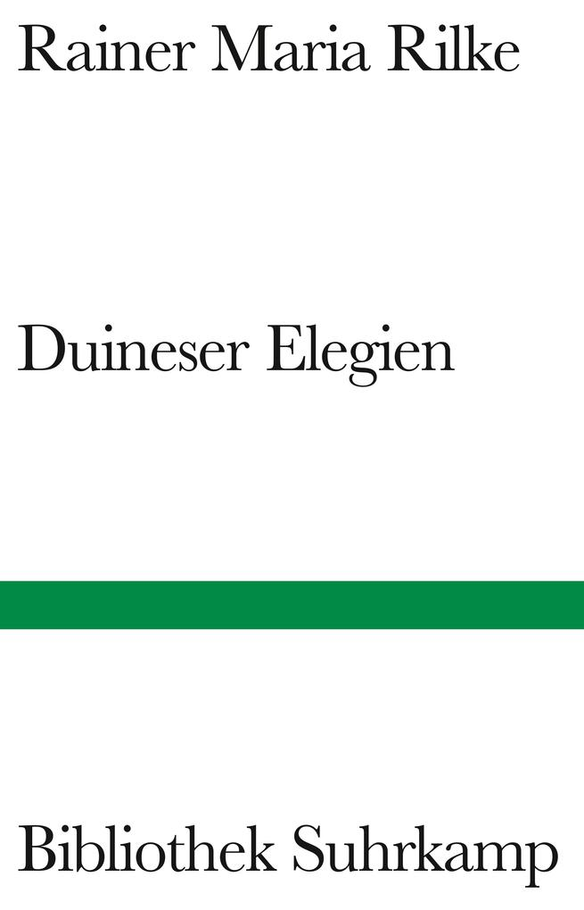 Duineser Elegien als Buch