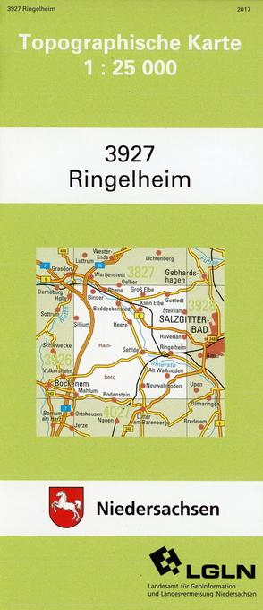 Ringelheim 1 : 25 000 als Buch
