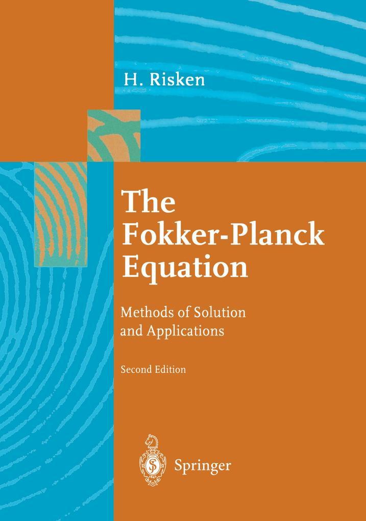 The Fokker-Planck Equation als Buch