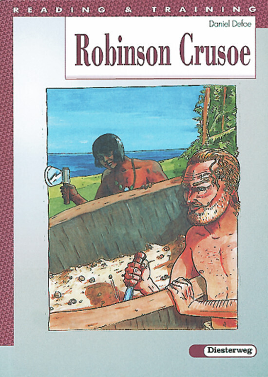 Reading and Training / Robinson Crusoe als Buch (kartoniert)