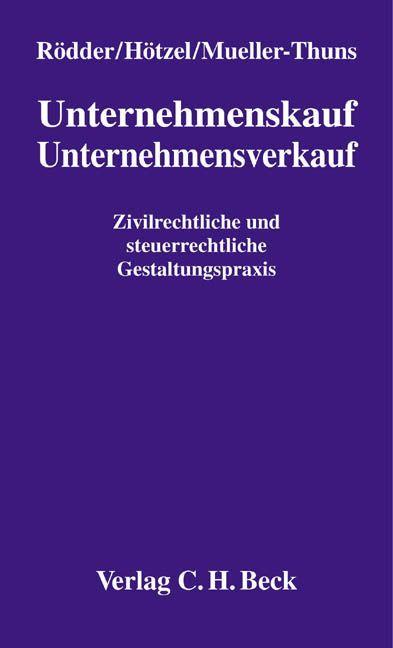 Unternehmenskauf / Unternehmensverkauf als Buch