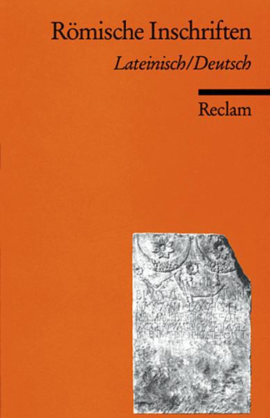 Römische Inschriften als Taschenbuch