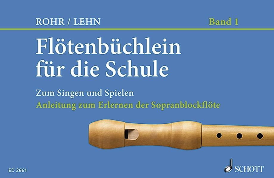 Flötenbüchlein für die Schule als Buch