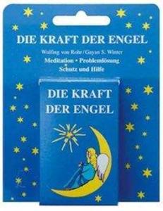 Die Kraft der Engel. 60 Karten mit Text und farbigen Motiven als Buch