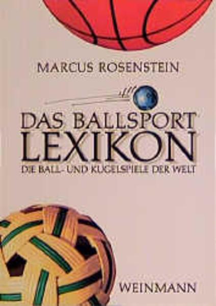 Das Ballsport Lexikon als Buch