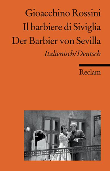 Der Barbier von Sevilla / Il barbiere di Siviglia als Taschenbuch
