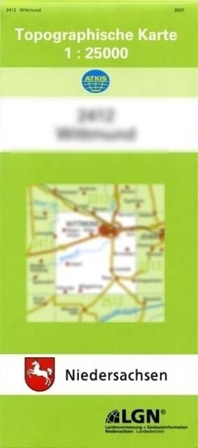 Rotenburg ( Wümme) 1 : 25 000. (TK 2822/N) als Buch