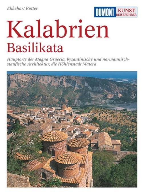 DuMont Kunst-Reiseführer Kalabrien, Basilikata als Buch