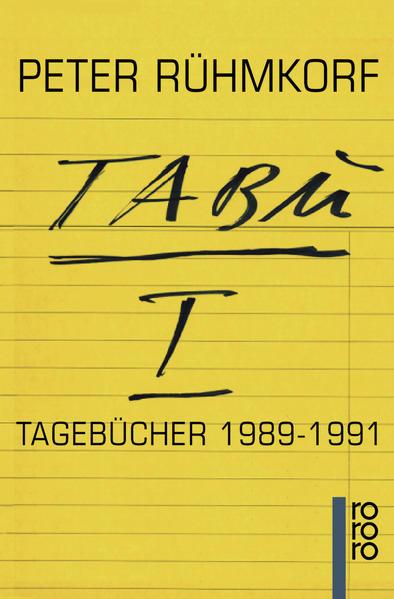 TABU I als Taschenbuch