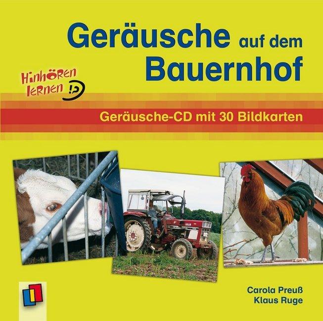 Geräusche auf dem Bauernhof. CD als Hörbuch