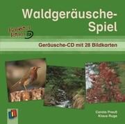 Waldgeräusche-Spiel. CD und 28 Bildkarten