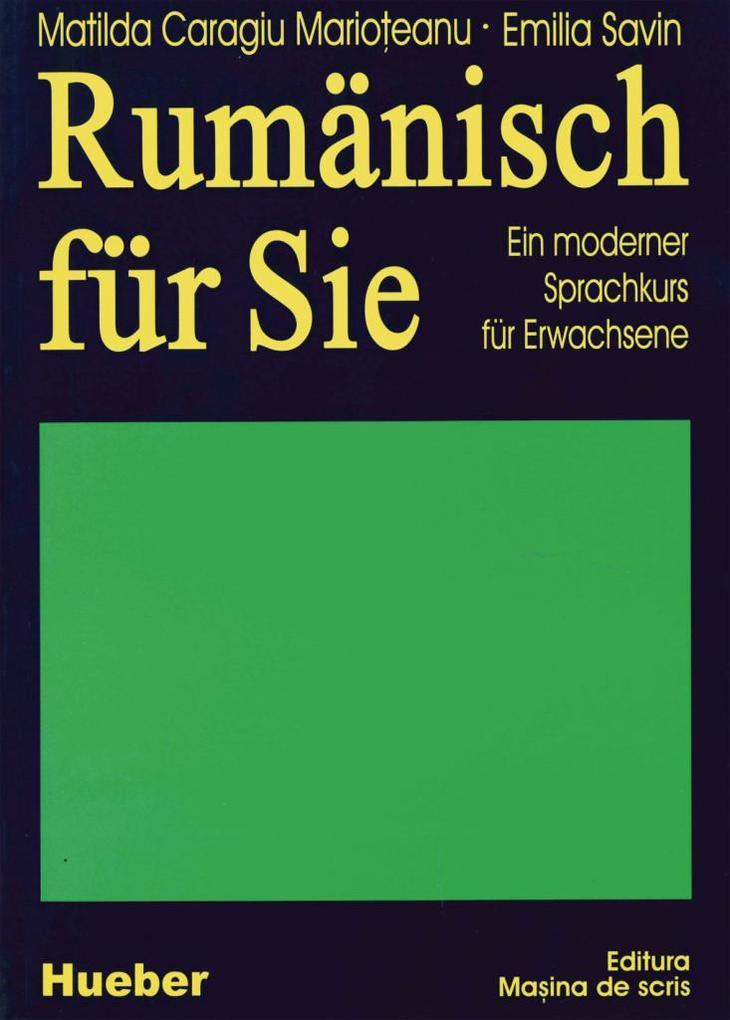 Rumänisch für Sie als Buch