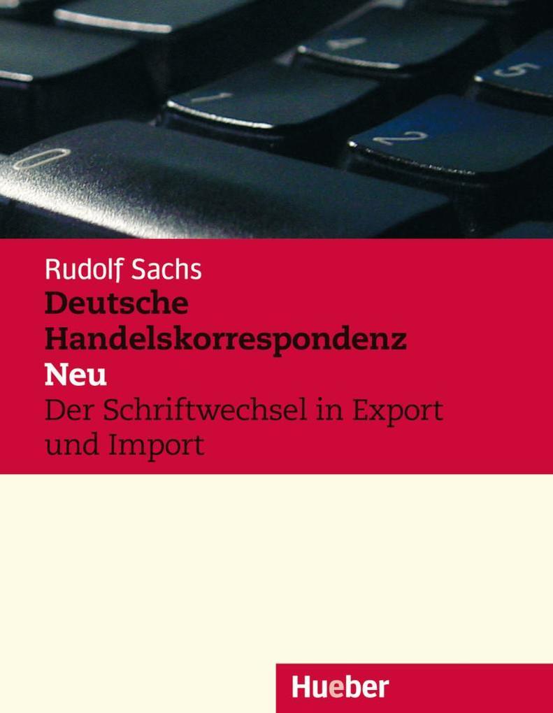 Deutsche Handelskorrespondenz als Buch