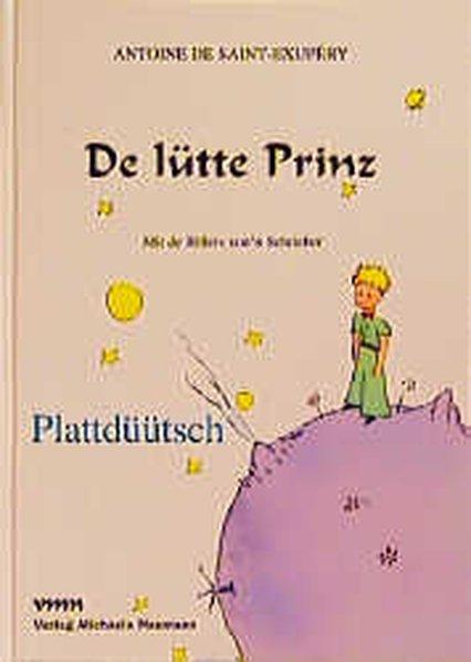 De lütte Prinz Plattdüütsch als Buch