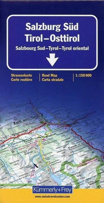 KuF Österreich 05 Salzburg Süd, Tirol, Osttirol 1 : 150 000 als Buch