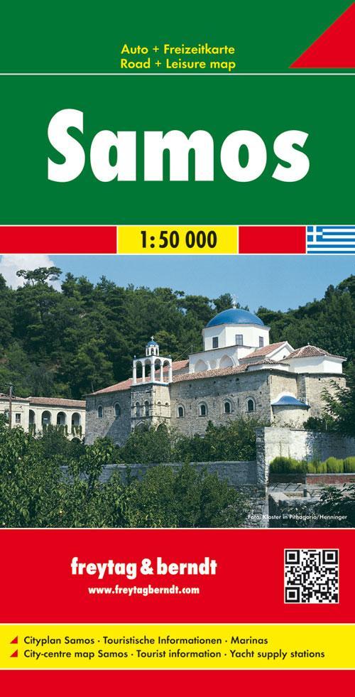 Samos 1 : 50 000 als Buch