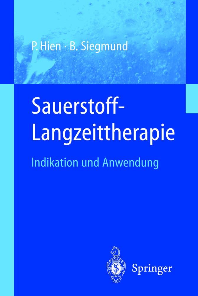 Sauerstoff-Langzeittherapie als Buch