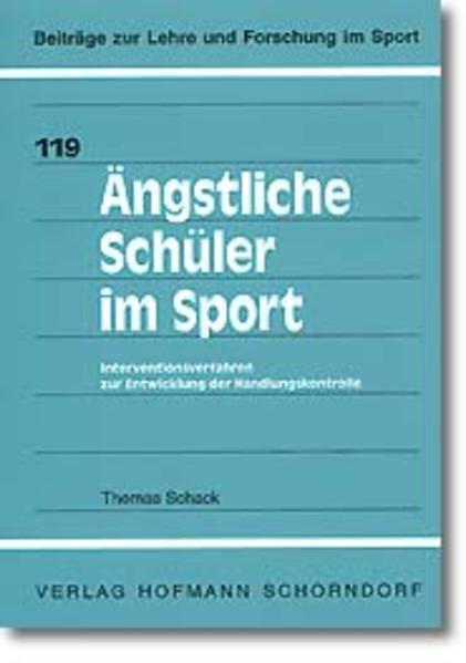 Ängstliche Schüler im Sport als Buch