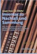 Inventar zu Nachlaß und Sammlung 3 Bände als Buch