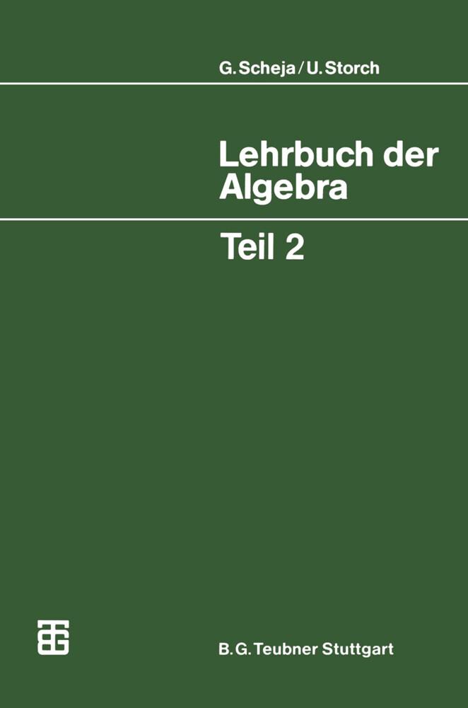 Lehrbuch der Algebra. Tl.2 als Buch