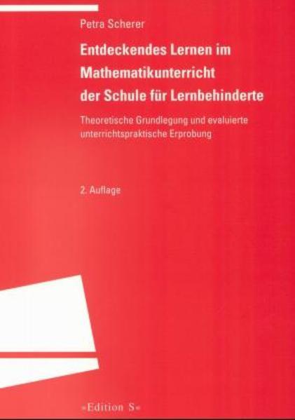 Entdeckendes Lernen im Mathematikunterricht der Schule für Lernbehinderte als Buch (gebunden)