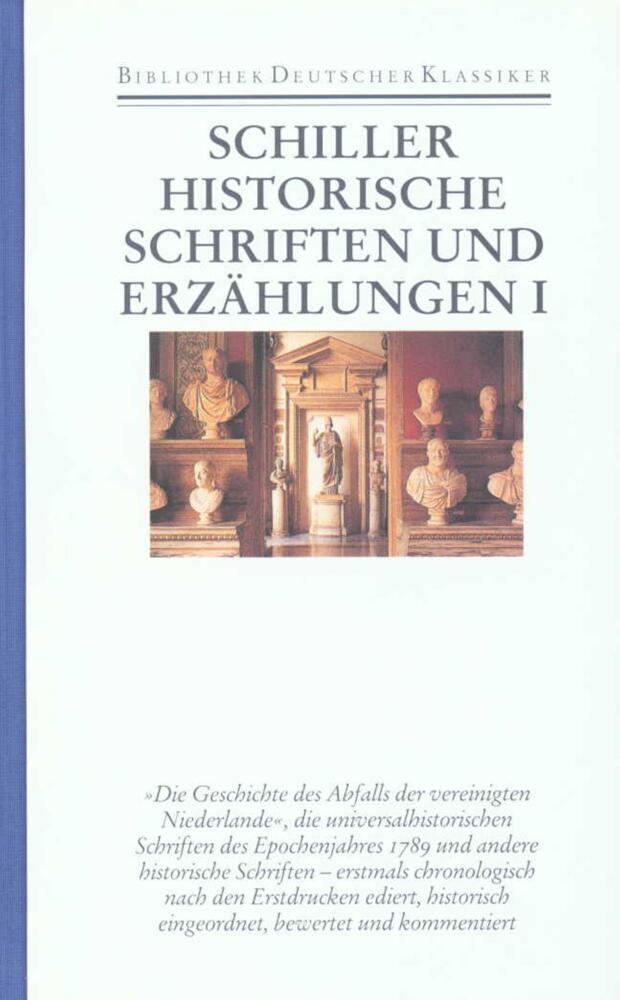 Historische Schriften und Erzählungen 1 als Buch