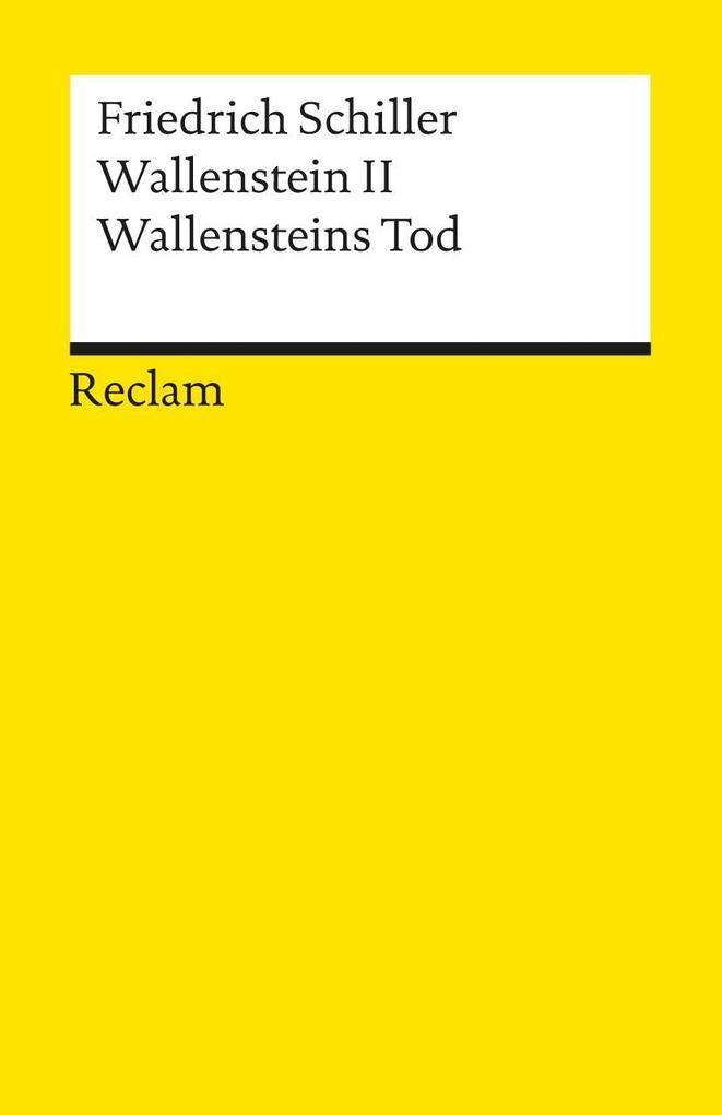 Wallenstein II. Wallensteins Tod als Taschenbuch