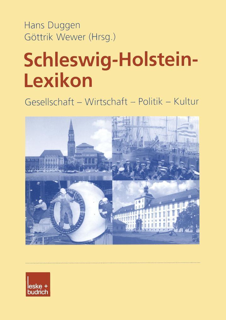 Schleswig-Holstein Lexikon als Buch