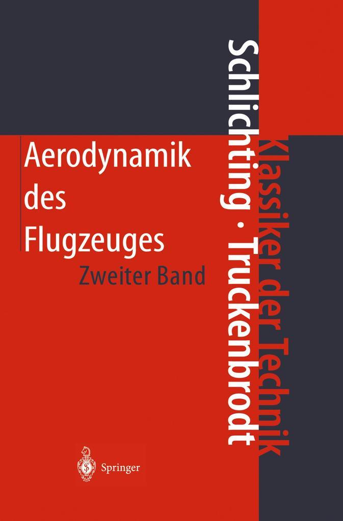 Aerodynamik des Flugzeugs 2 als Buch