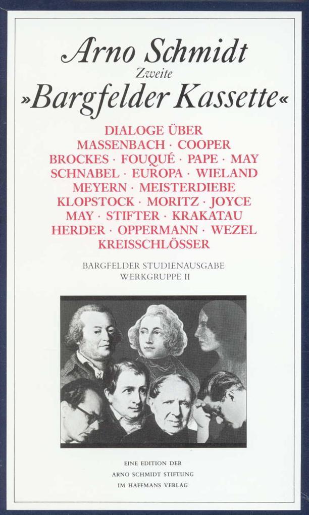 Werke, Bargfelder Ausgabe, Werkgr.2, 6 Bde. als Buch