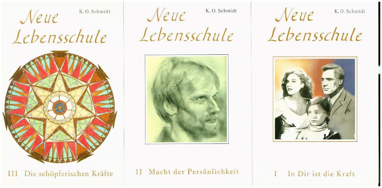 Neue Lebensschule I-III als Buch