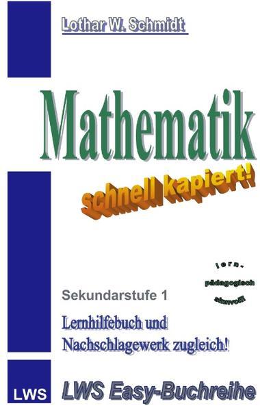 Mathematik-schnell kapiert als Buch