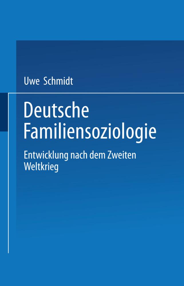 Deutsche Familiensoziologie als Buch (gebunden)