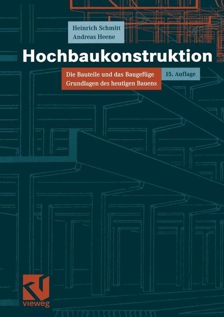 Hochbaukonstruktion als Buch