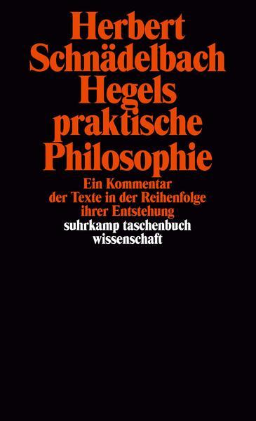 Hegels praktische Philosophie als Taschenbuch